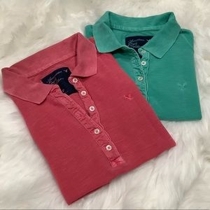 American Eagle Outfitters women polo shirts